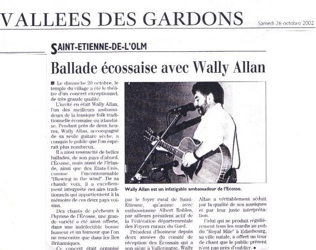 French press cutting
